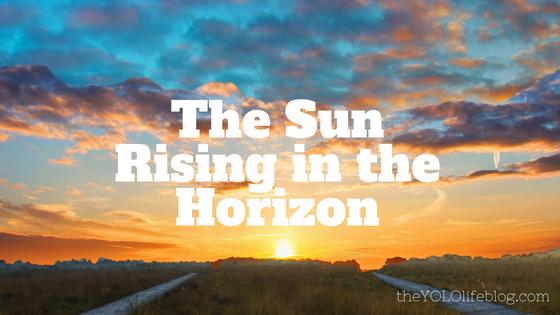 The Sun Rising in theHorizon