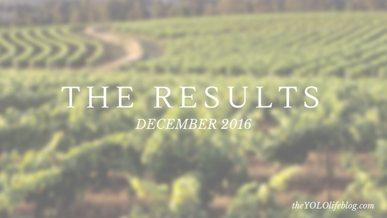 The Results: December 2016